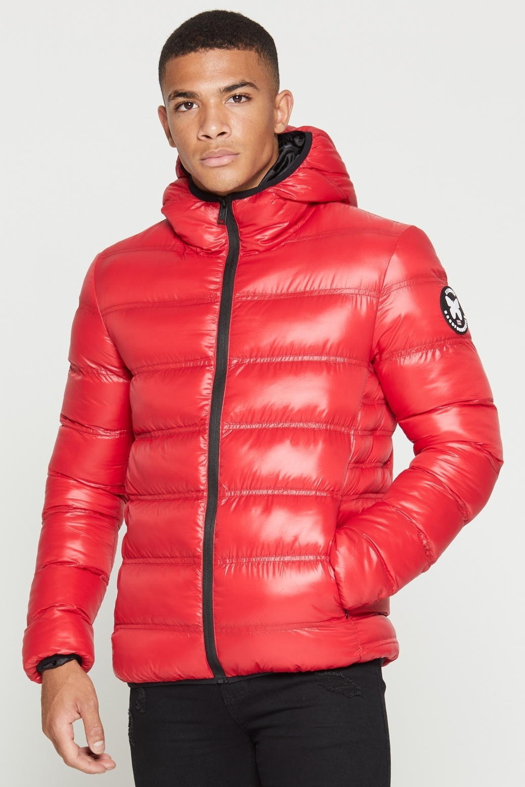 good for nothing climate red puffer jacket p1426 6783 medium - Los 13 chollazos del Black Friday