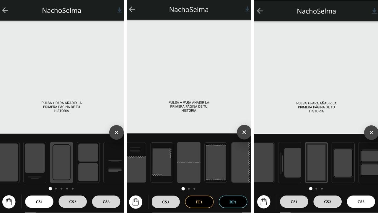 plantillasv unfold - 7 aplicaciones complementarias a Instagram